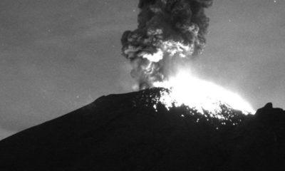Alertan posible caída de ceniza del Popocatépetl en cuatro alcaldías