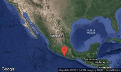 Sismo en la Ciudad de México. Foto. Twitter