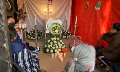 Despiden a Mía Mendoza, tenía tres años; perdió la vida en el Cerro del Chiquihuite