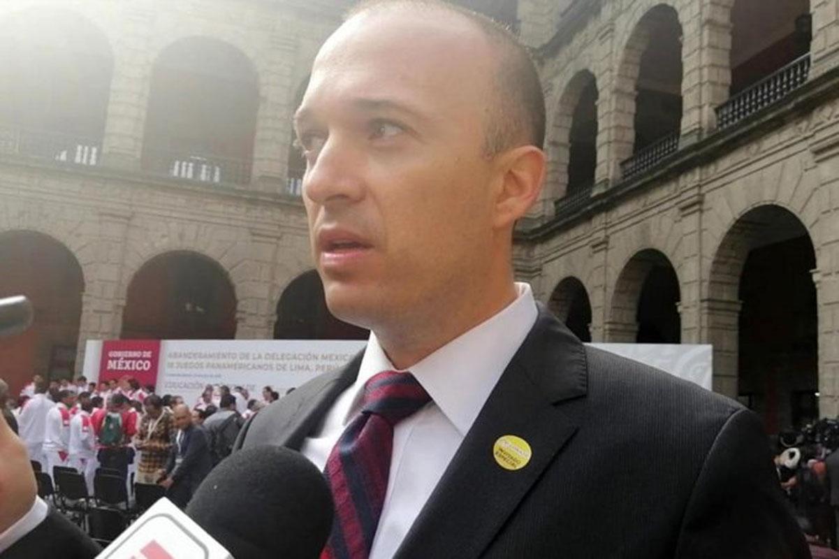 Vinculan a proceso al presidente de la Federación Mexicana de Natación