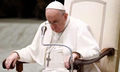 """Papa Francisco revela que tras su operación lo """"querían muerto"""""""