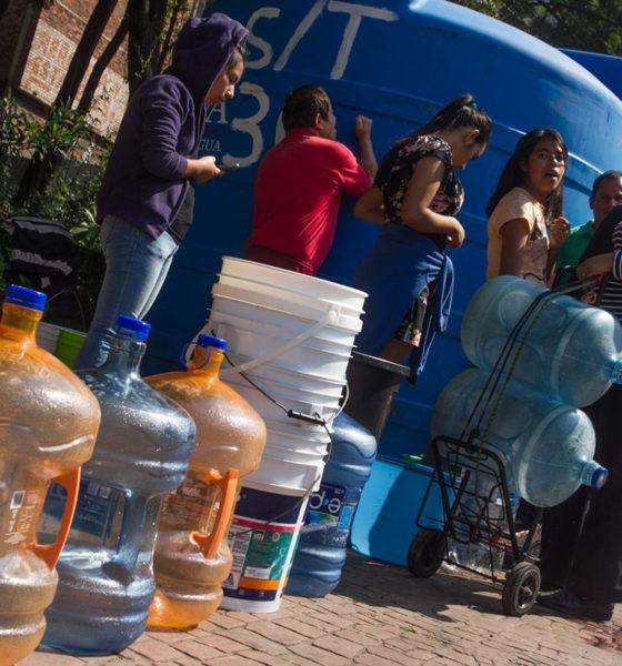 Por sismo, Iztapalapa, Neza y La Paz se quedan sin agua