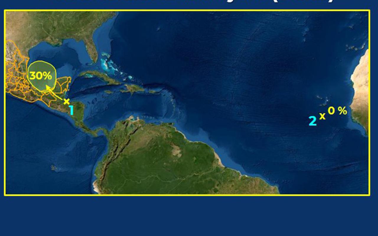 Existe probabilidad de Ciclón Tropical en Península de Yucatán