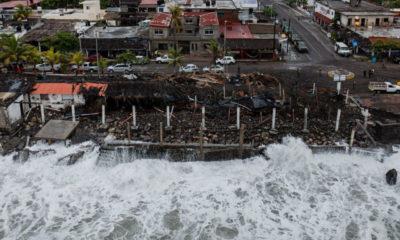 2020, año histórico con más ciclones tropicales que impactaron a México