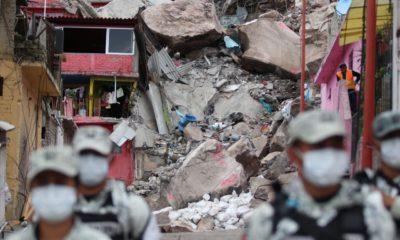 Desalojan mitad de viviendas del Cerro del Chiquihite por riesgo