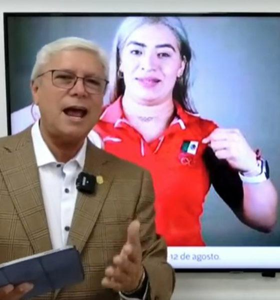Atleta olímpica evidencia premio; ¿qué ganó plata o bronce? pregunta gobernador