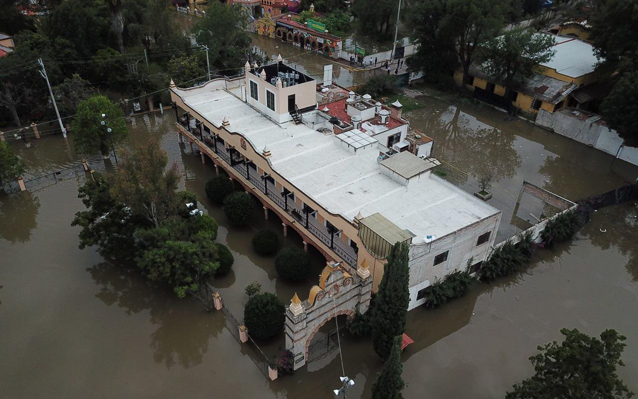 Advierten riesgo de inundaciones por presas a su máxima capacidad