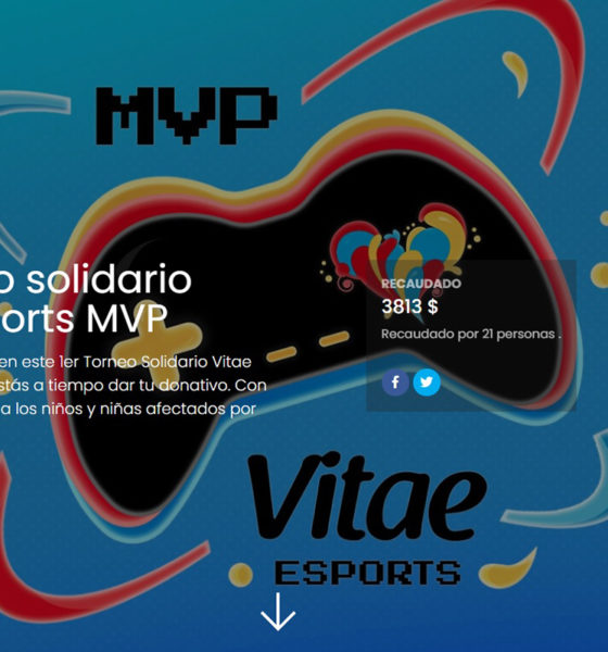 Miles de jóvenes reunidos para promover valores y recaudar fondos para Haití en Torneo Solidario Vitae esports MVP