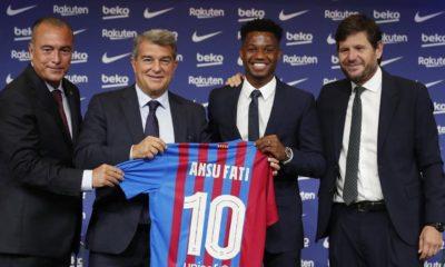 Ansu Fati se queda con el Barcelona. Foto: Twitter