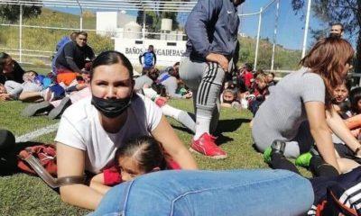 Balacera en un partido de futbol. Foto: Twitter