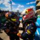 Max Verstappen y Checo Perez