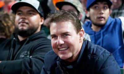 Tom Cruise hinchado