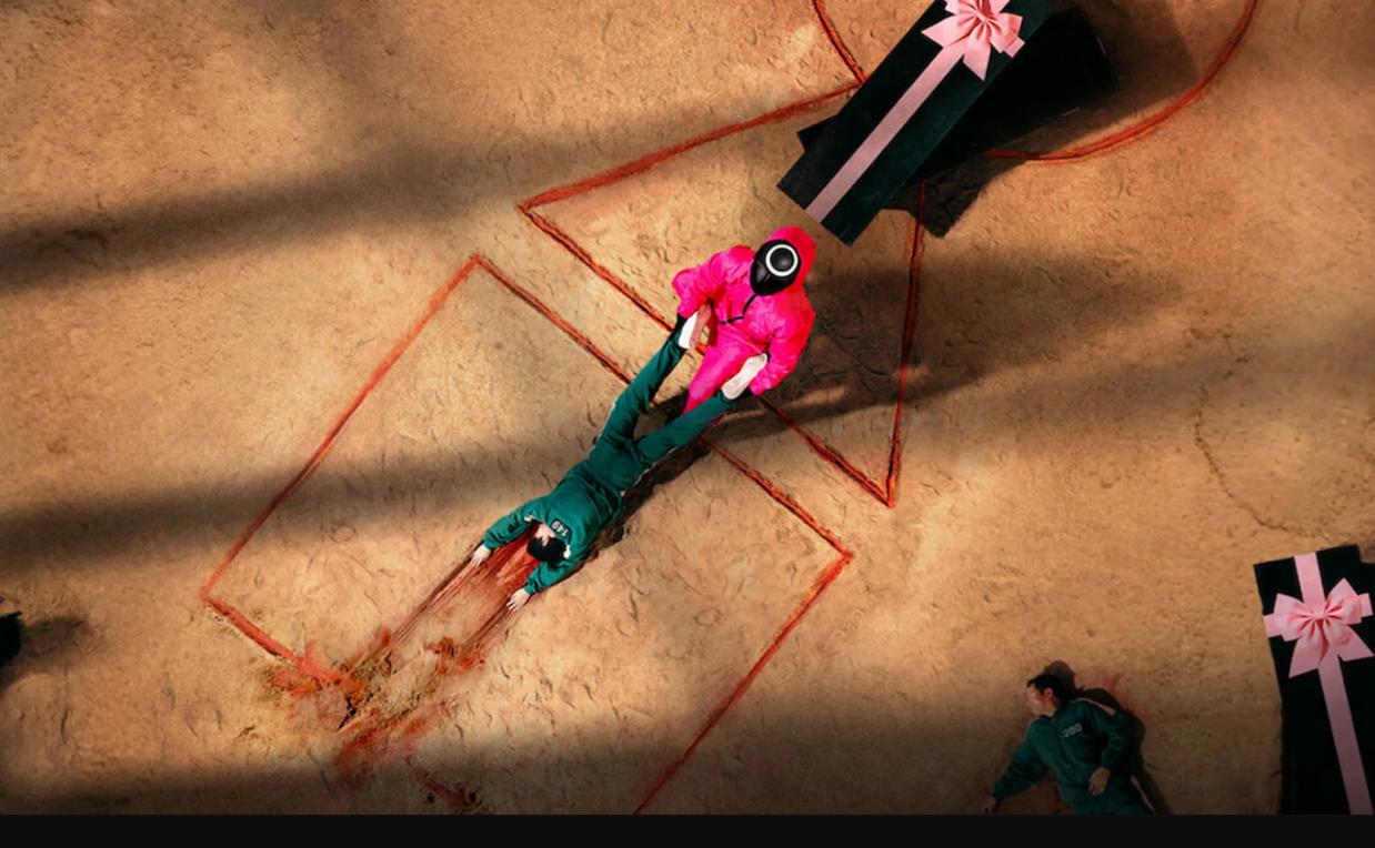 Escena de El juego del calamar