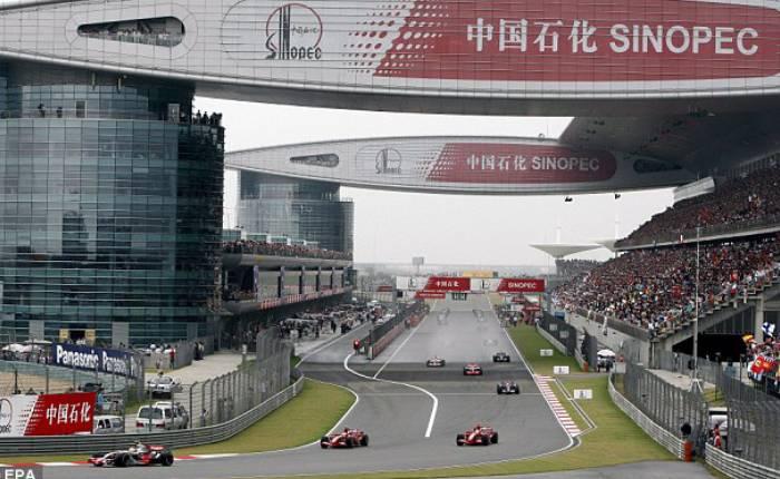 China se queda sin Gran Premio de Fórmula 1. Foto: Twitter