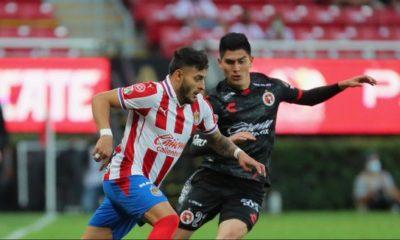Chivas se medirá a los Xolos dentro de la Liga MX. Foto: Twitter