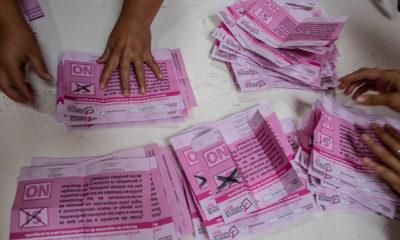 Recibe Senado acuerdo del INE que declara válidos los resultados de Consulta Popular