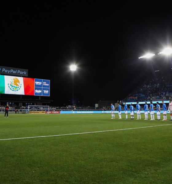 Cruz Azul ante San José en amistoso. Foto: Twitter