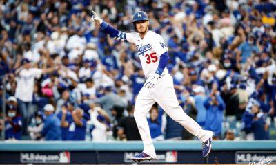 Dodgers se impuso a los Braves. Foto: Twitter