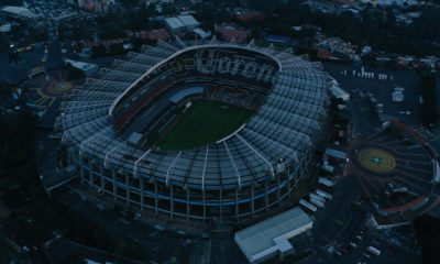 Estadio Azteca, coloso de Santa Úrsula. Foto: Twitter