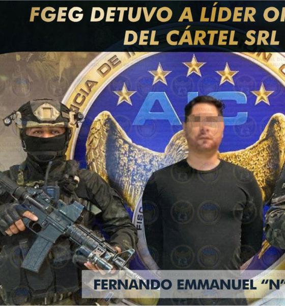 Detienen a 'El Panther', líder del Cártel Santa Rosa de Lima