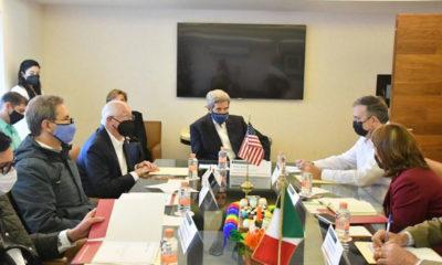 John Kerry analiza con AMLO plan de reforestación Sembrando Vida