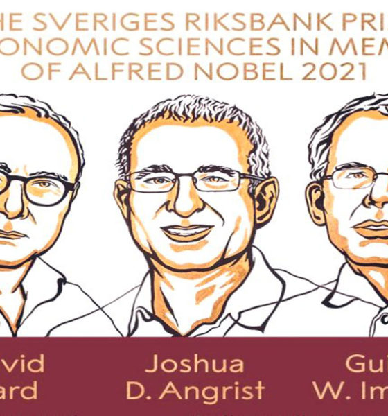 Ganan Nobel de Economía un canadiense, un holandés y un estadounidense