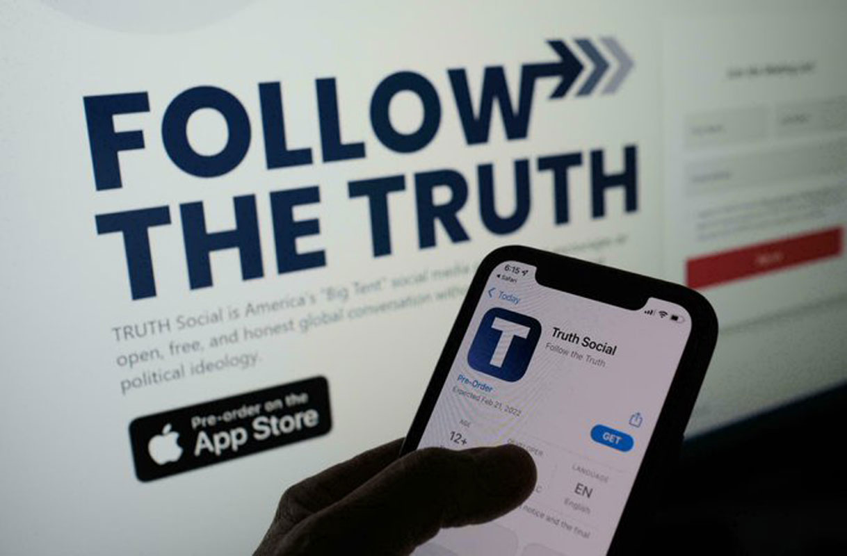 Trump anuncia el lanzamiento de su aplicación de redes sociales