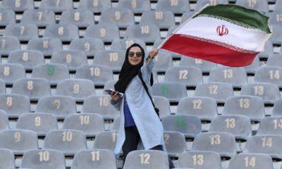 Irán permite acceso a mujeres. Foto: @futfemprof