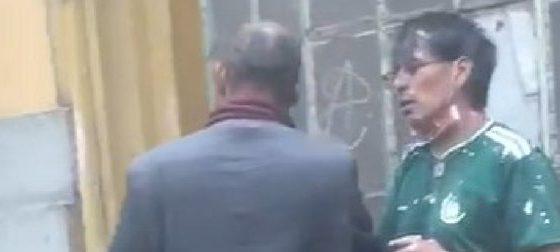 Mago González deambulaba por las calles. Foto: Twitter