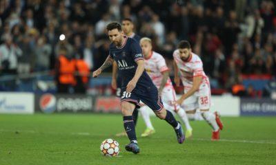 Messi salva al PSG en la Champions League. Foto Twitter