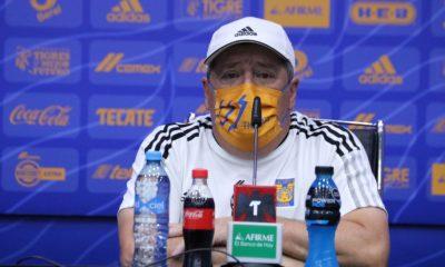 Miguel Herrera con Tigres. Foto: Twitter