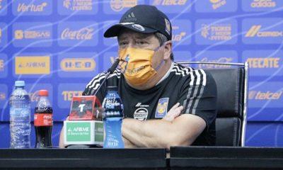 Miguel Herrera con los Tigres. Foto: Twitter