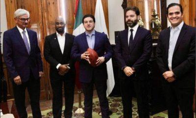 Samuel García y la NFL. foto: Twitter
