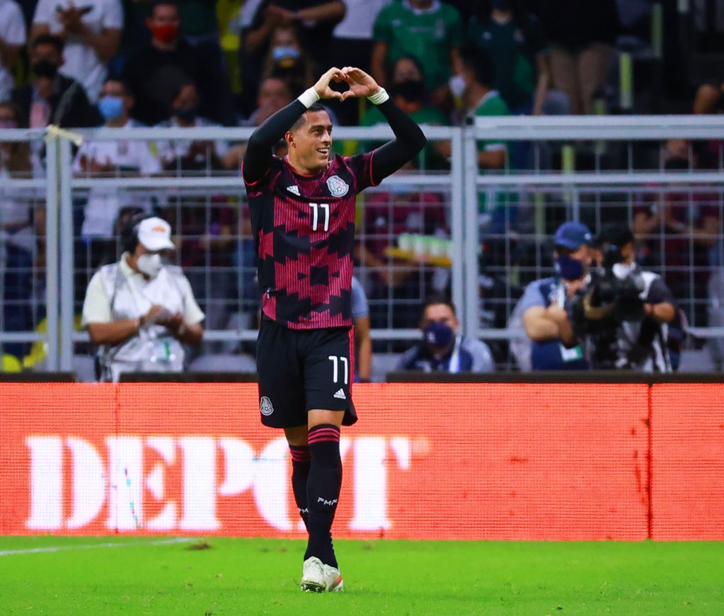 Selección Mexicana domina a El Salvador. Foto: Twitter