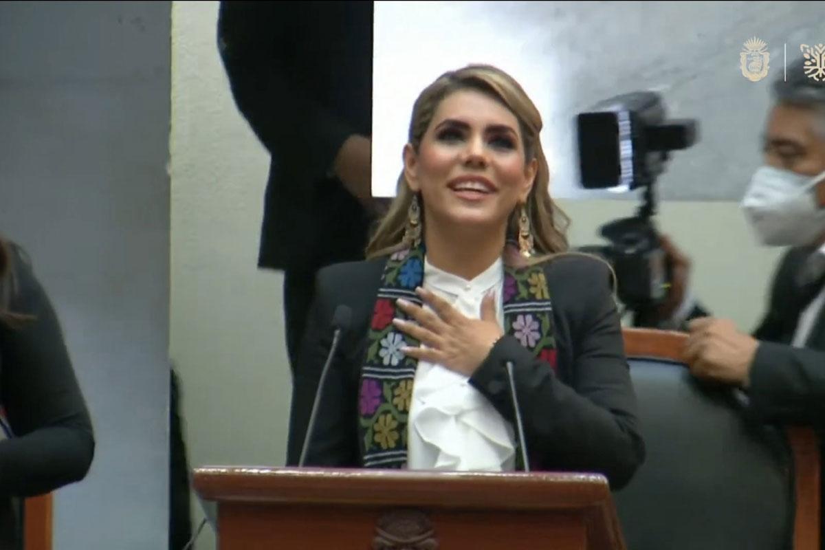 Evelyn Salgado asumió la gubernatura de Guerrero