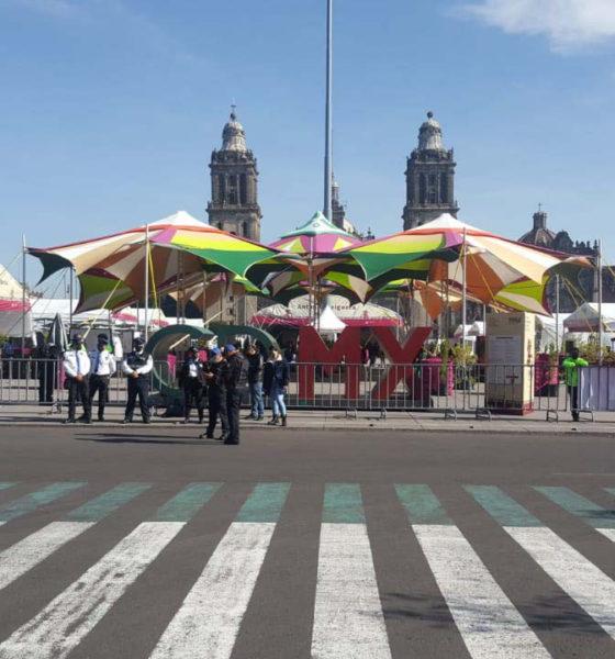 Anuncia policía de la CDMX operativo especial por Feria de Libro en el zócalo