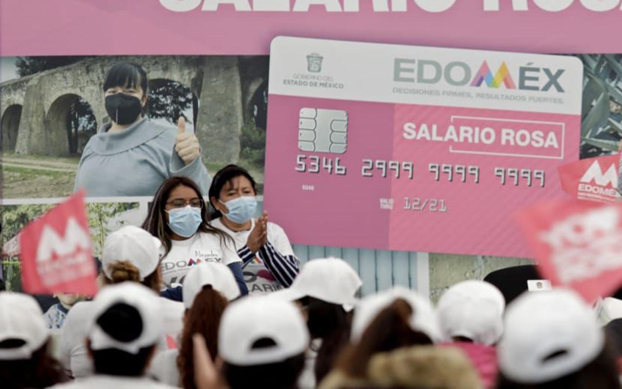 Salario Rosa es para invertir en la familia: Del Mazo